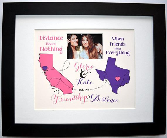 Unique Moving Gift Idea For Sister Best Friend Or Family This Is A Custom Map Art Present With Any Goodbye Gifts Graduation Gifts For Friends Going Away Gifts