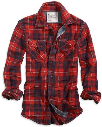 ShopStyle: Eagle Flannel Shirt
