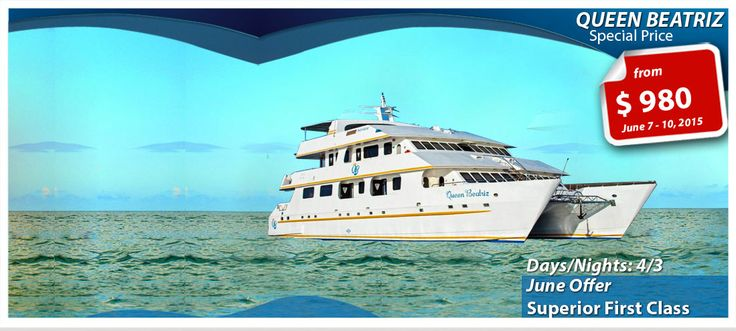QUEEN BEATRIZ - 2015 GALAPAGOS CRUISE - MidlandTravel
