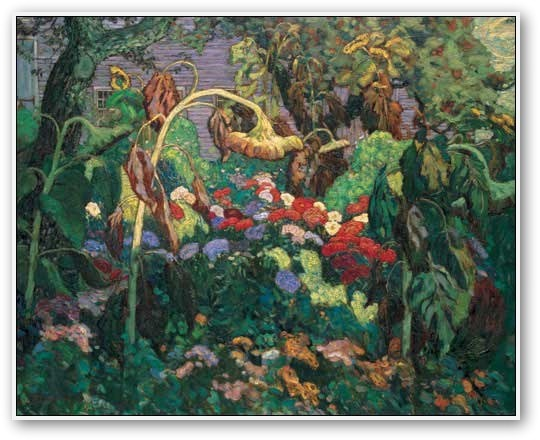 One of the Group of Seven, J.E.H. MacDonald - The Tangled Garden