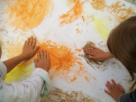 Peintures rupestres, à la manière des 1ers hommes - Maternelle and co