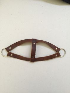 Eco-Friendly Leather Dog Harness #DogHarness