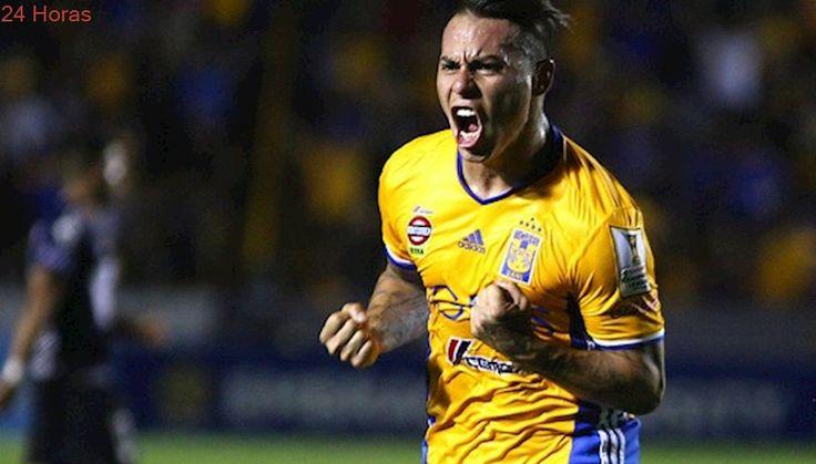 Golazo de 'Edu': Vargas marcó en triunfo de Tigres en la liga mexicana