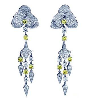 Cartier raincloud earrings