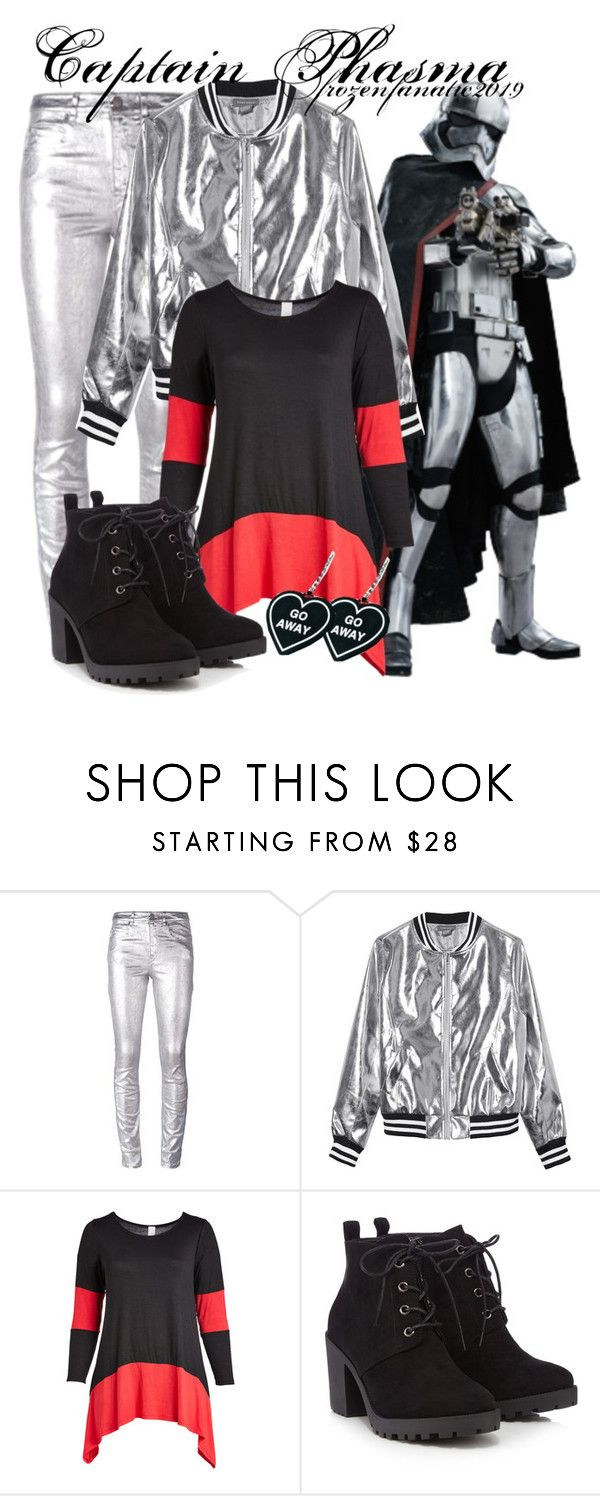 """""""Captain Phasma"""" by frozenfanatic2019 ❤ liked on Polyvore featuring Étoile Isabel Marant, Sans Souci, Red Herring, Witch Worldwide and plus size clothing"""