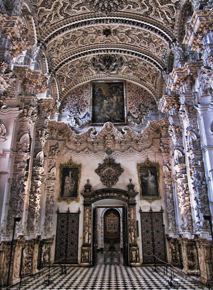 Sacristía de la cartuja de Granada.