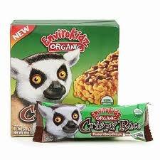 EnviroKidz Organic Peanut Choco Drizzle Crispy Rice Bars - 1 Points   - LaaLoosh