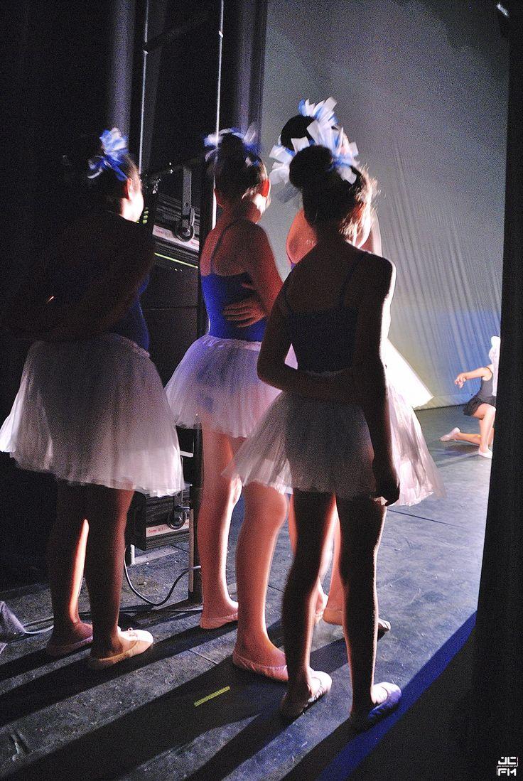 Danza entre bambalinas. Junio de 2015