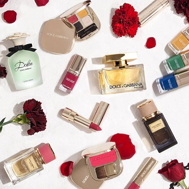 Dolce Gabbana Makeup Collage #collage #makeup #fragrance #dg
