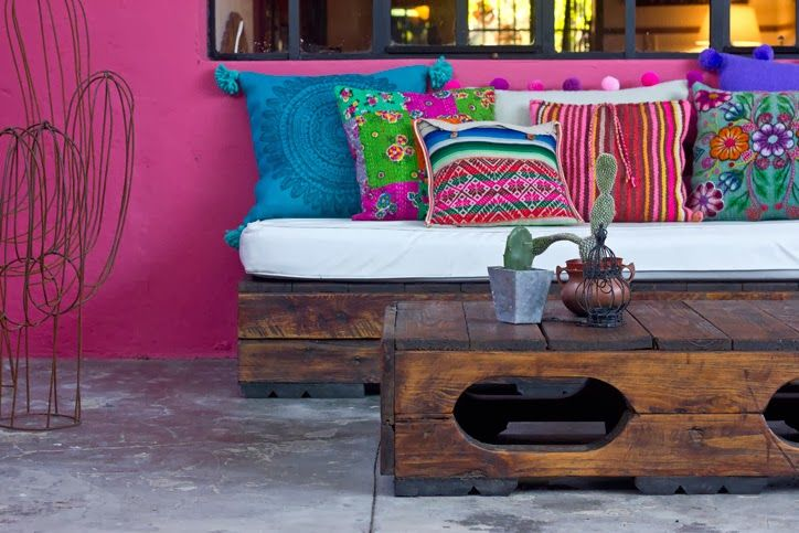 Color and Art in Argentina | Home Tour