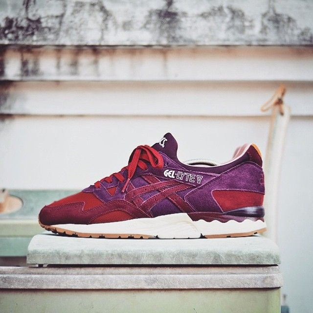 asics gel lyte dried rose