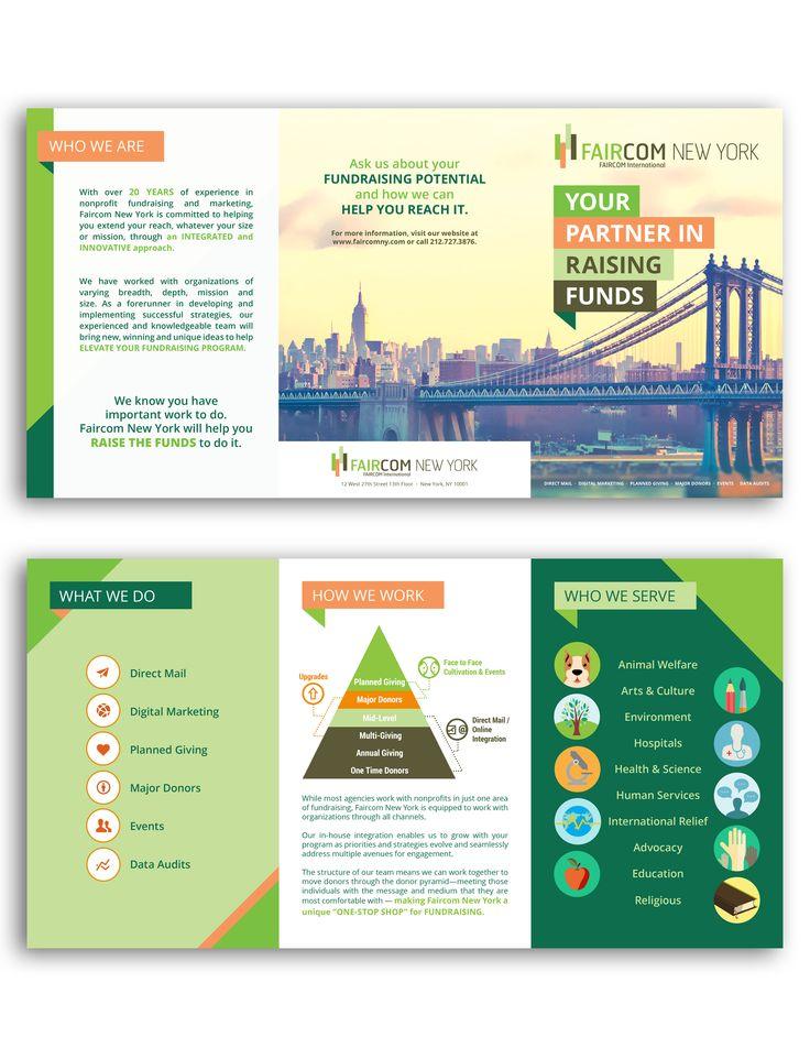 A for-profit brochure design Faircom New York http://www.faircomny.com/