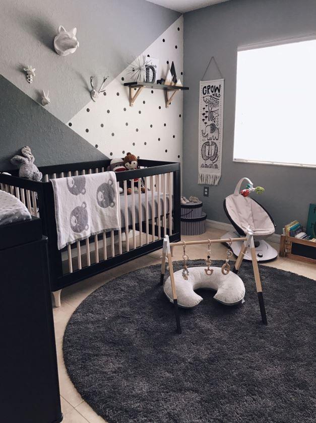 Décoration murale chambre bebe : 50 idées déco