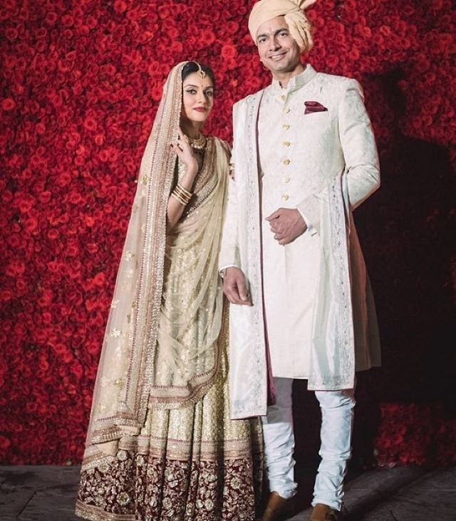 Asin reception wedding dress