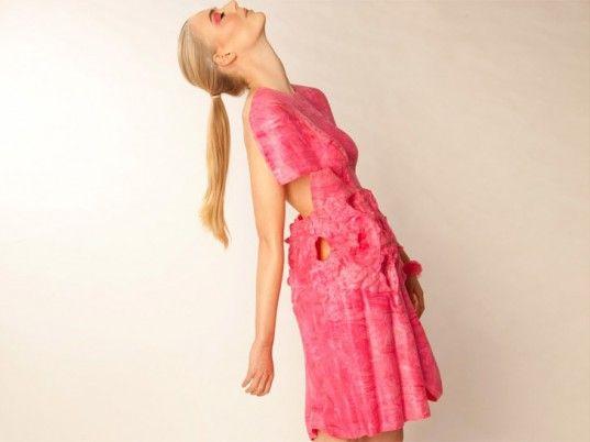 Samantha Murray, gastronomy, eco-fashion, sustainable fashion, green fashion, ethical fashion, sustainable style, Smartwater, wearable technology, edible fashion, edible clothing