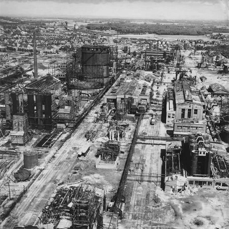 Gelsenkirchen Buer Hydrierwerk Scholven Chemie 1945