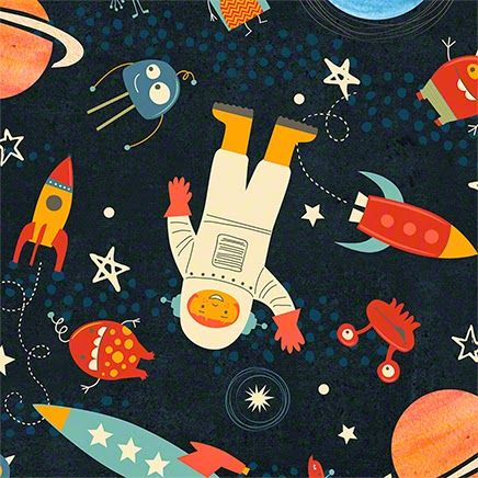 "Jennifer Wambach Design & Illustration: ""Space… A Friendly Place!"""