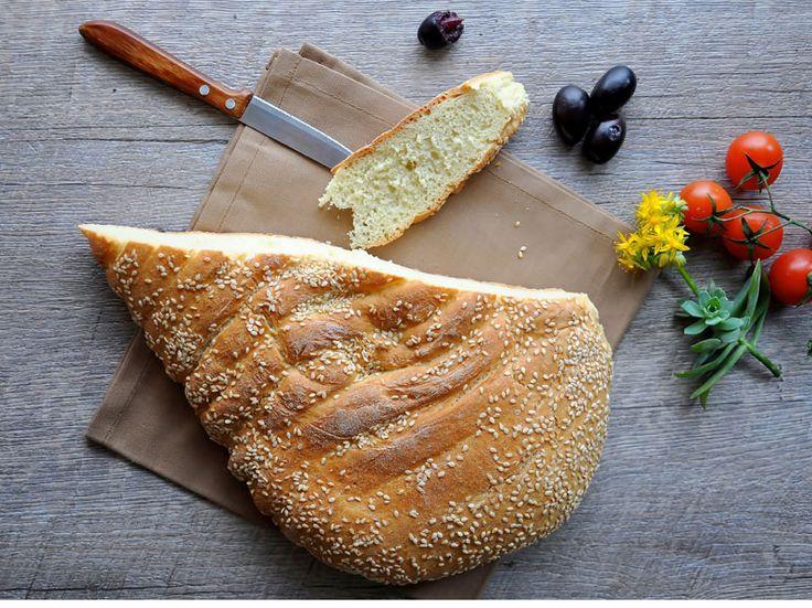 Λαγάνα | Lagana Bread  #Lagana #Bread #CleanMonday #Food #Greek #Traditions #GreekTraditions #Greece #Crete #Ierapetra