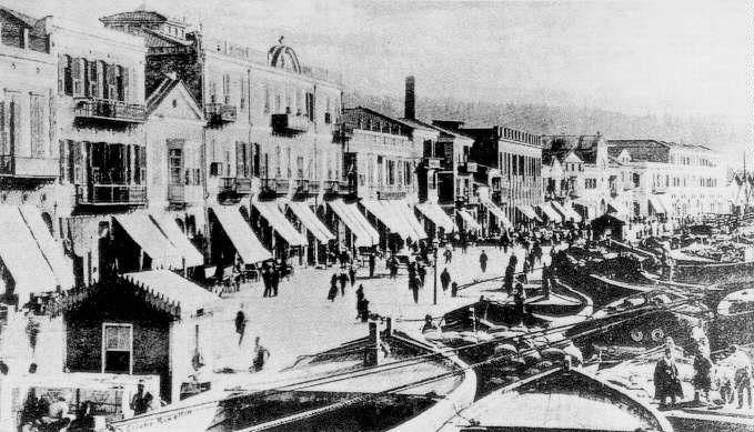 Izmir, Kordon 1800 ca.