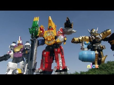 Power Rangers Dino Super Charge - Here Comes Heximas - Megazord Fight (Episode 22) - YouTube