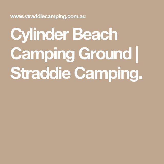 Cylinder Beach Camping Ground   Straddie Camping.