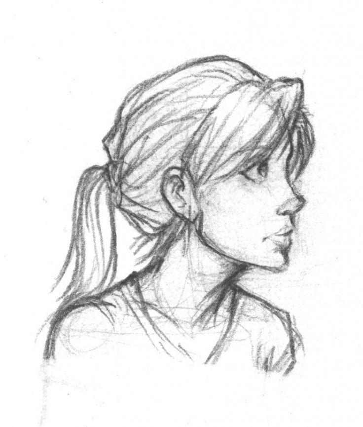 Best 25+ Profile Drawing Ideas On Pinterest