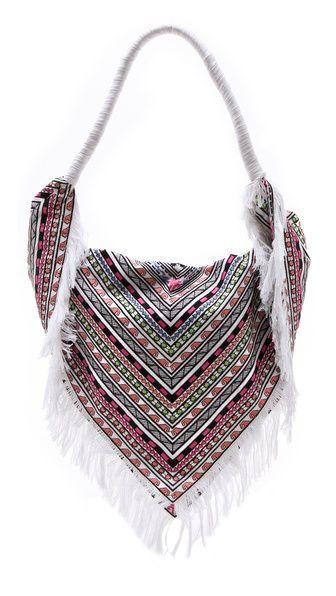 Mara Hoffman Embroidered Scarf Bag