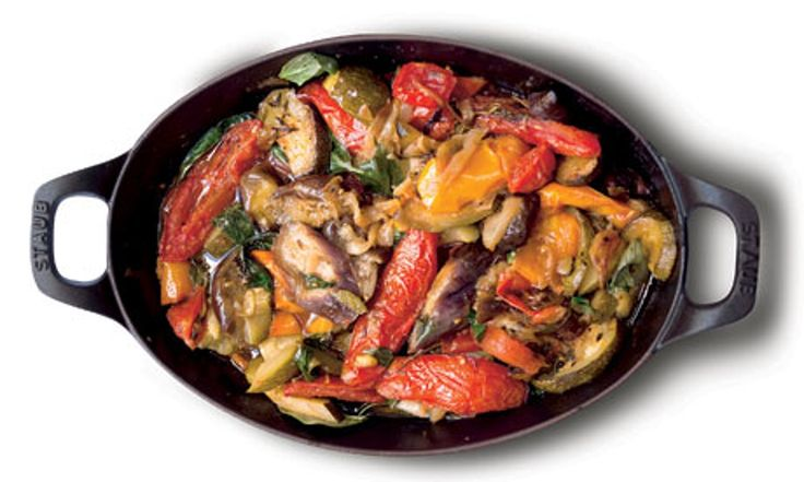 Conjure up Provence with this lush mixture of tender vegetables…