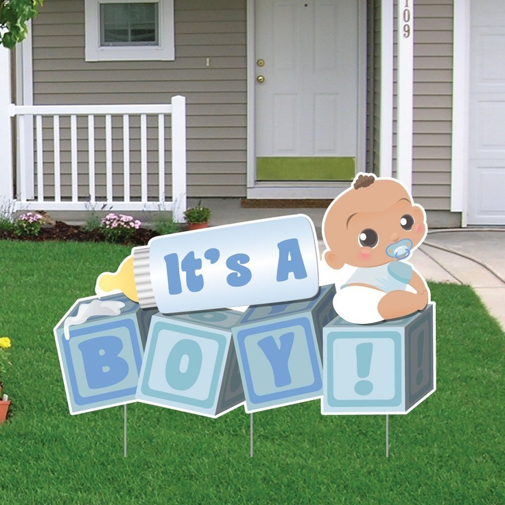 17 Best images about Baby yard signs – Baby Announcement Lawn Signs