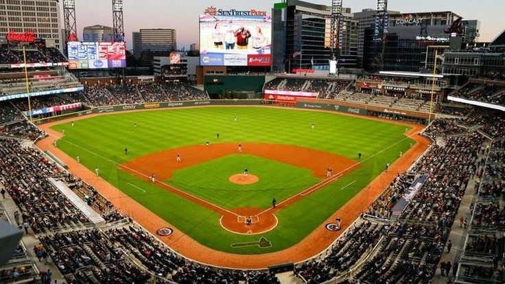 SunTrust Park, Atlanta - new home of the Braves in 2017