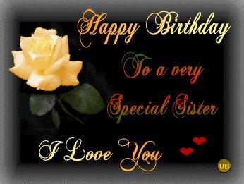 happy bday sister | happy birthday happy birthday to my very beautiful sister wishing you ...