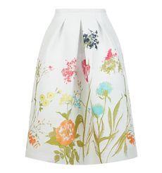 Tulip Border Skirt