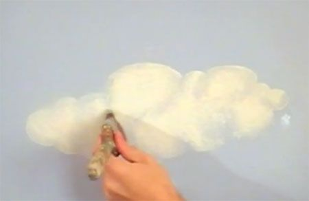 Home-Dzine - How to paint clouds on walls or ceiling