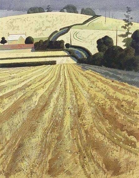 Simon Palmer (This reminds me of my childhood. We lived on the edge of the small city surrounded by fields and hedgerows, that's why I am happy now living at the edge of a small market town, with water meadows, fields and hedgerows on my doorstep).