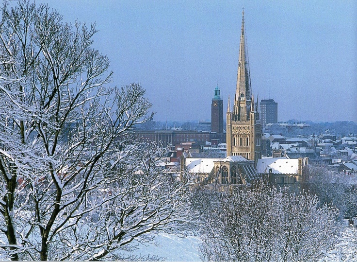 Norwich - England. One of my favorite cities in all of England.