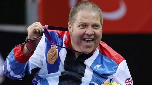 Paul Davies - table tennis bronze