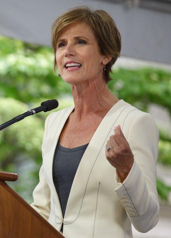 Sally Yates Tells Harvard Students Why She Defied Trump