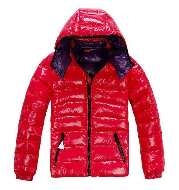 Kaufen Moncler Weste Rot Daunenjacke Herren