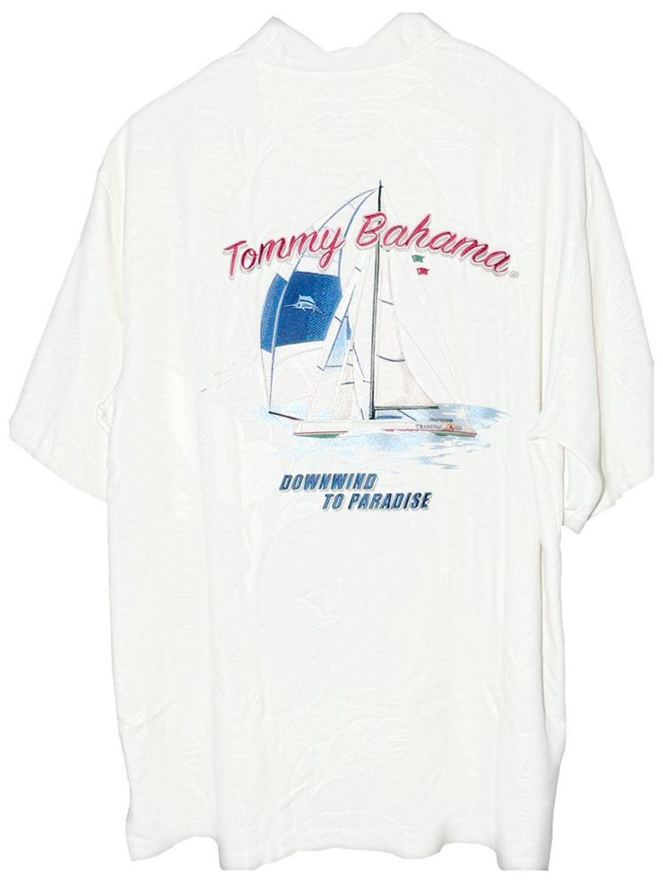 Tommy bahama embroidered downwind to paradise silk camp for Tommy bahama embroidered silk camp shirt