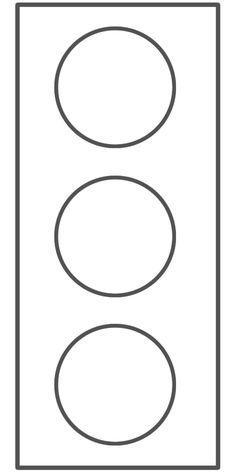 Blank stoplight for relapse prevention plan//safety planning
