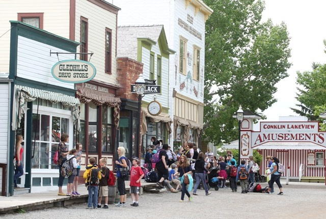 Calgary's Heritage Park is a top tourist destination in the summer.