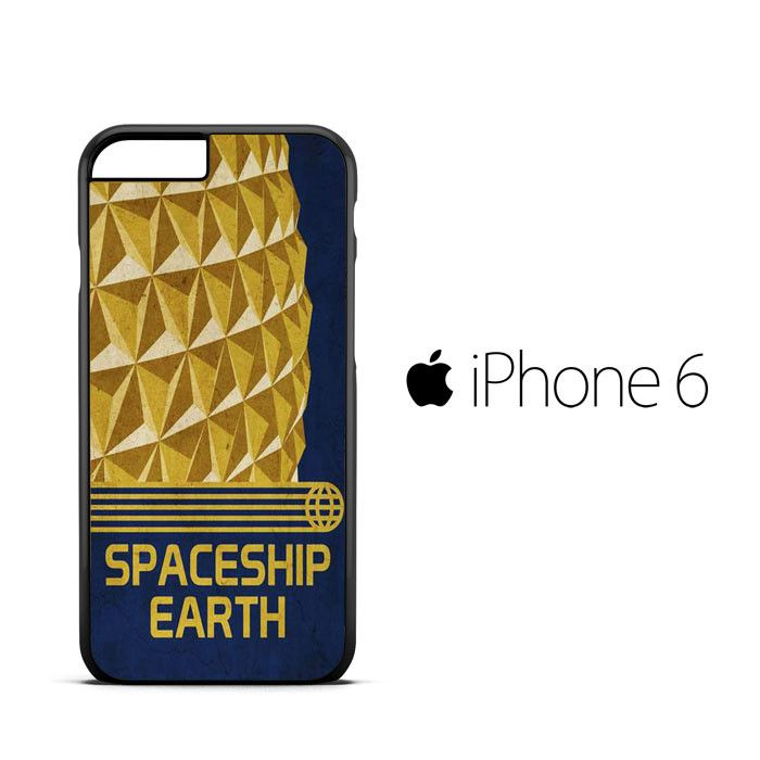 Spaceship Earth Epcot Poster B0040 iPhone 6 | 6S Case