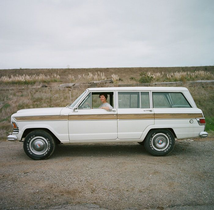 Jeep Grand Wagoneers Full Professional Ground Up >> Cool woman in classic SUV! | Photography 1 | Pinterest ...