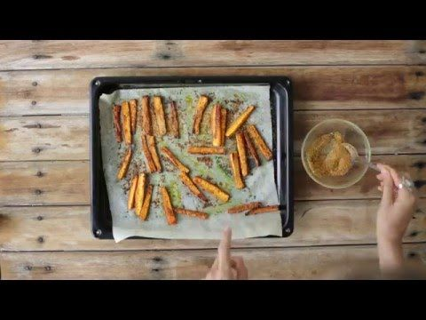 Chicken Salted Carrot Chips | Changing Habits