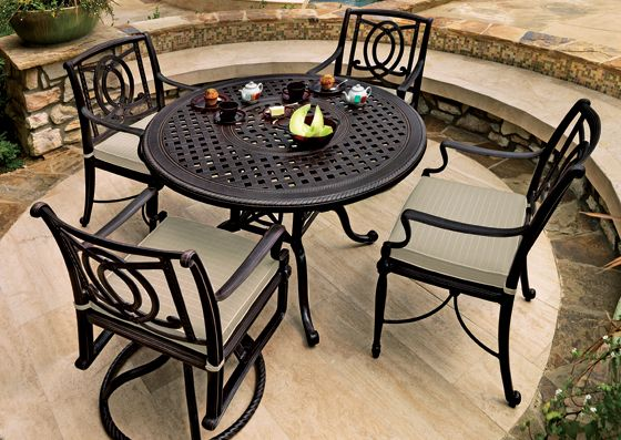 Gensun Casual Living Dining Furniture | Gensun Casual Outdoor Furniture    Bel Air Collection