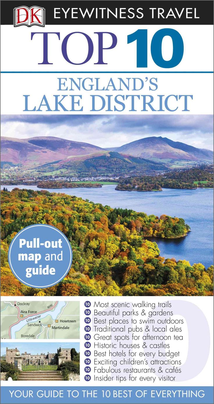 DK Eyewitness Travel Guides: the most maps, photography, and illustrations of any guide. DK Eyewitness Travel Guide: Top 10 England's Lake District is your pocket guide to the very best of this beauti