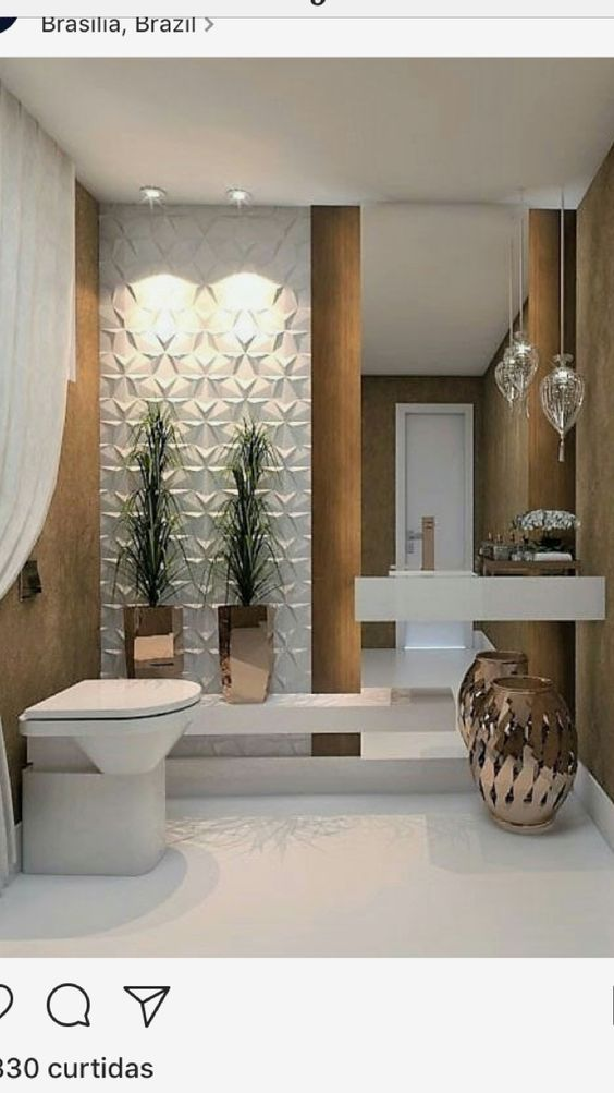 Dise o arquitectonico de un medio ba o como decorar un ba o peque o moderno como decorar un - Como decorar un bano pequeno moderno ...