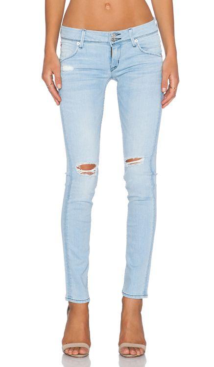 Hudson Jeans Collin Flap Skinny in Strata | REVOLVE $220