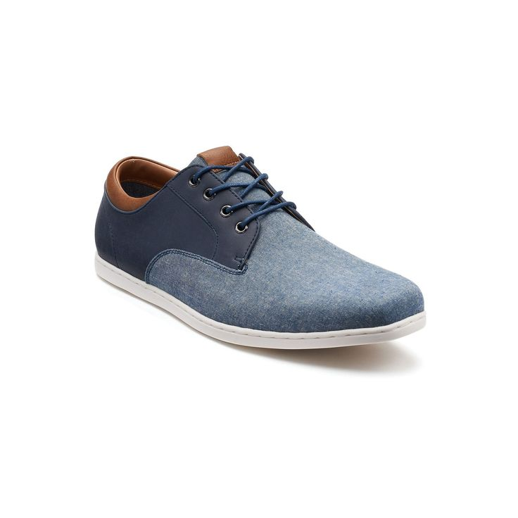 SONOMA Goods for Life™ Truman Men's Oxford Shoes, Size: 10.5, Blue (Navy)