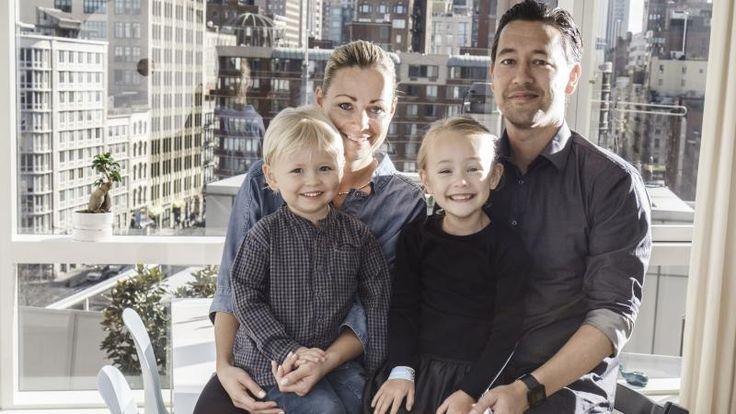 Ditte og familien flyttet til USA etter barnet fikk en autisme-diagnose.